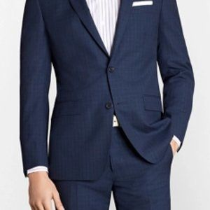 Brooks Brothers Milano Fit Pinstripe 1818 Suittwo botton